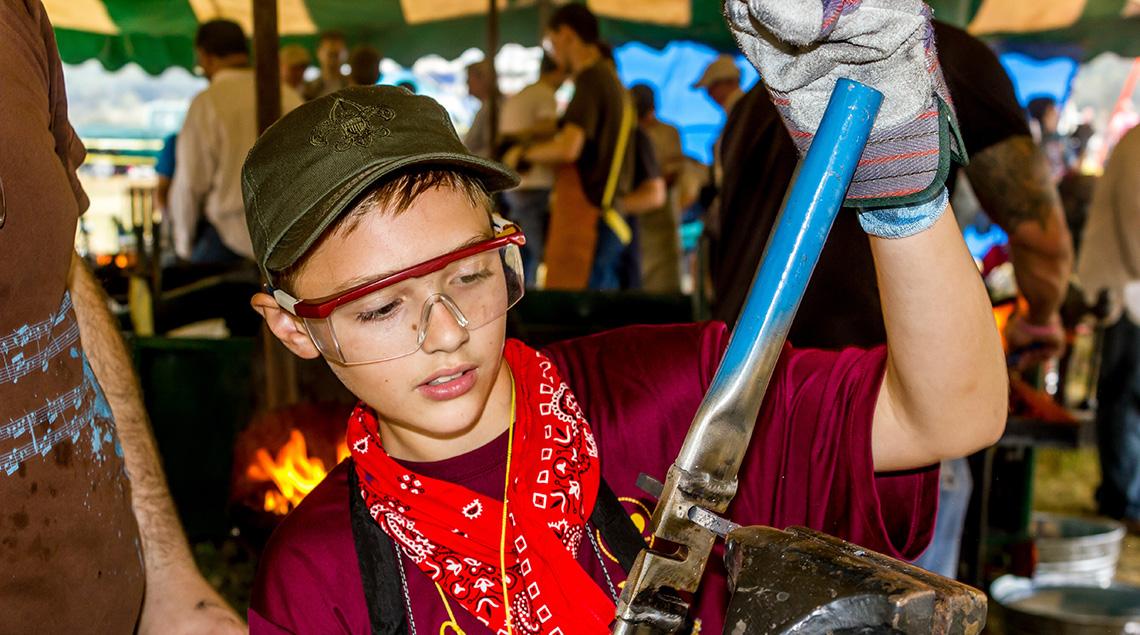 ScoutFest metalwork