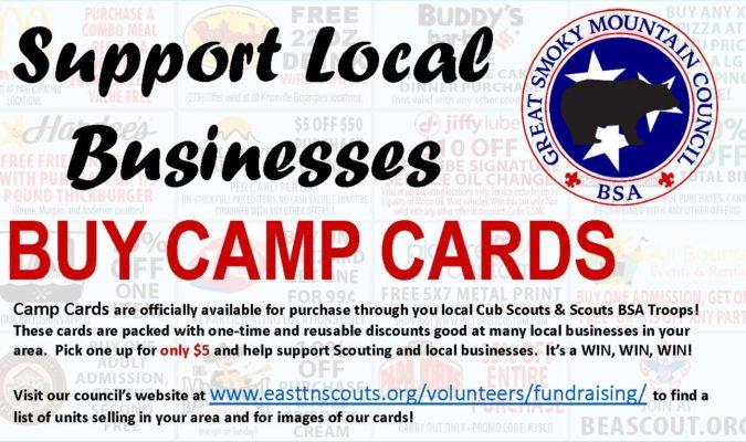 Camp Card Promo